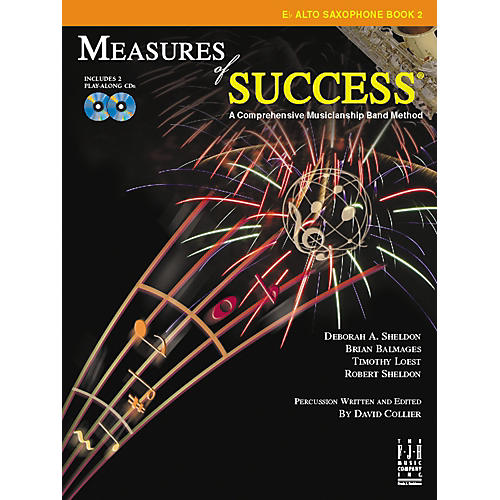 FJH Music Measures of Success E-flat Alto Saxophone Book 2