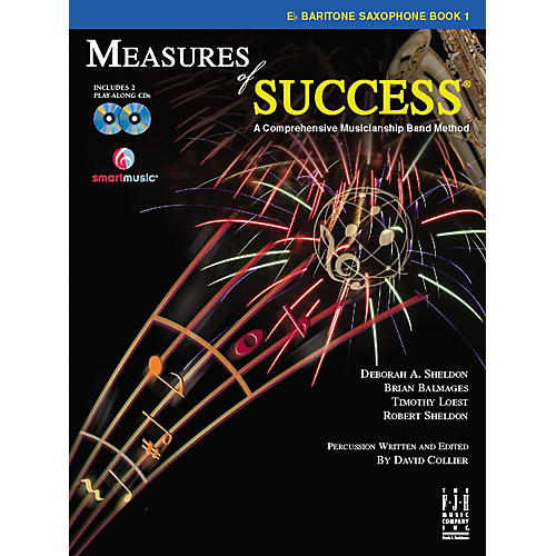 FJH Music Measures of Success E-flat Baritone Saxophone Book 1