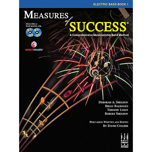 FJH Music Measures of Success Electric Bass Book 1-thumbnail