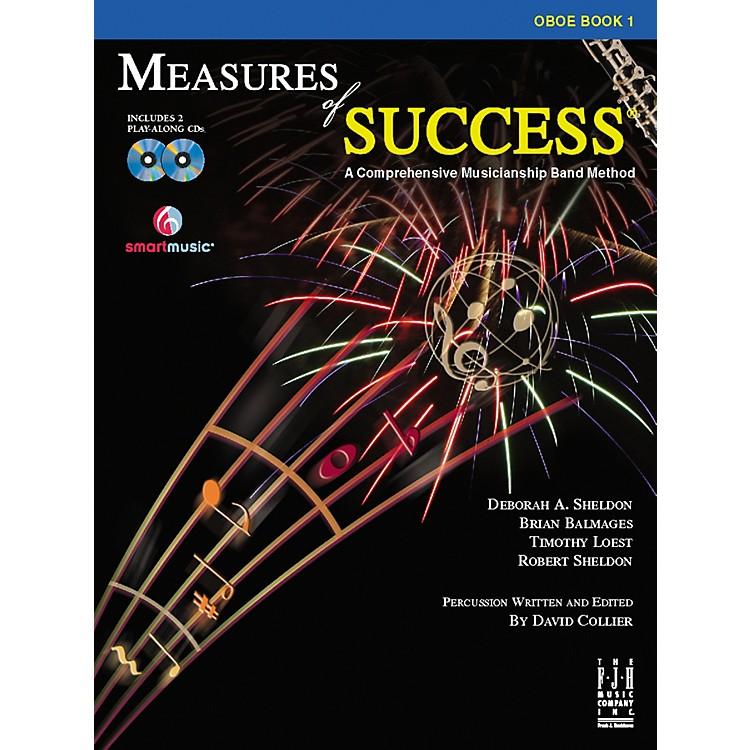 FJH MusicMeasures of Success Oboe Book 1