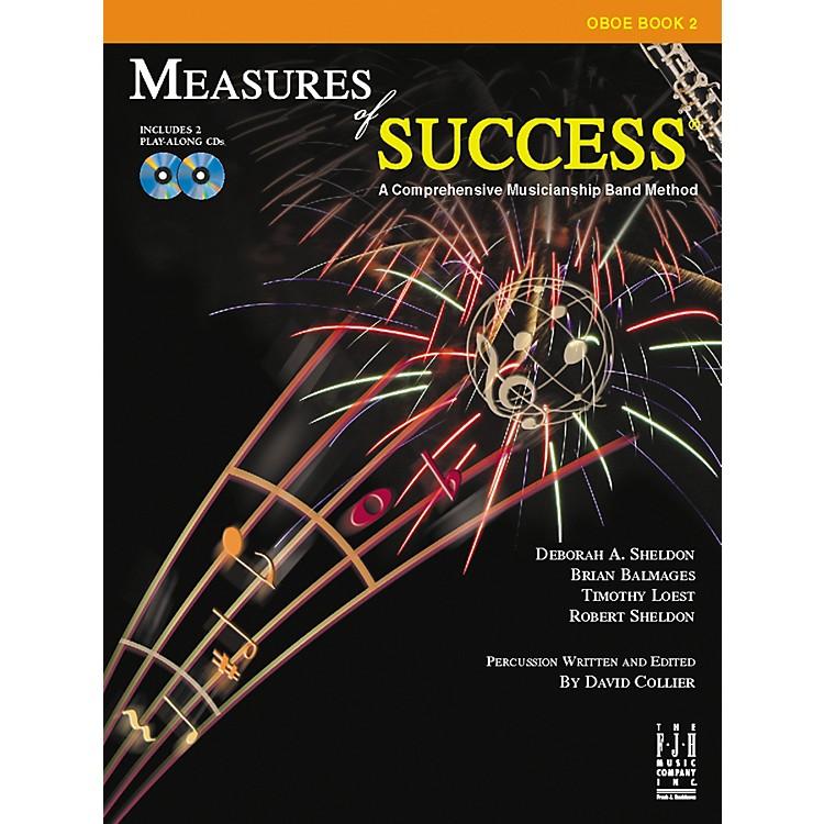FJH MusicMeasures of Success Oboe Book 2
