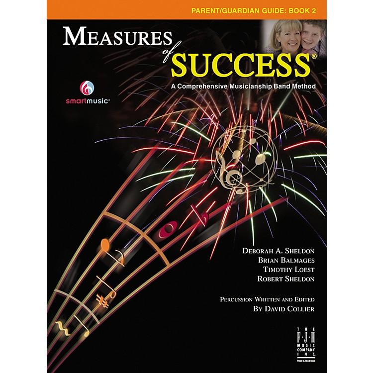 FJH MusicMeasures of Success Parent/Guardian Guide Book 2