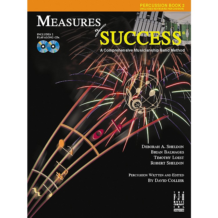 FJH MusicMeasures of Success Percussion Book 2