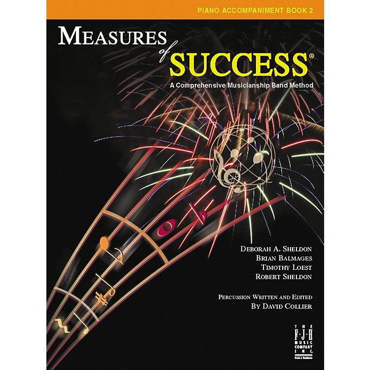 FJH MusicMeasures of Success Piano Accompaniment Book 2