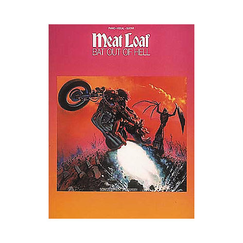 Hal Leonard Meat Loaf: Bat Out of Hell Book