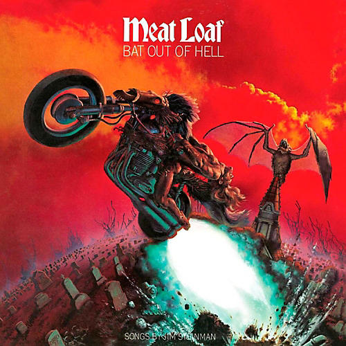 RED Meatloaf - Bat out of Hell LP-thumbnail