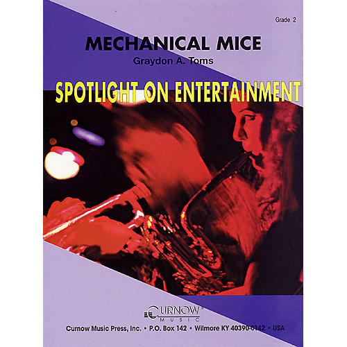 Curnow Music Mechanical Mice (Grade 2 - Score Only) Concert Band Level 2 Composed by Graydon Toms-thumbnail