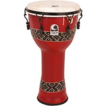 Toca Mechanically Tuned Djembe with Extended Rim 12 in. Bali Red