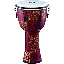 Meinl Mechanically Tuned Djembe with Synthetic Shell and Head 12 in. Pharaoh's Script