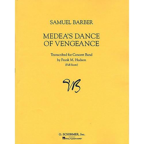 G. Schirmer Medeas Dance of Vengeance, Op. 23a Study Score Series Composed by Samuel Barber Edited by Frank Hudson