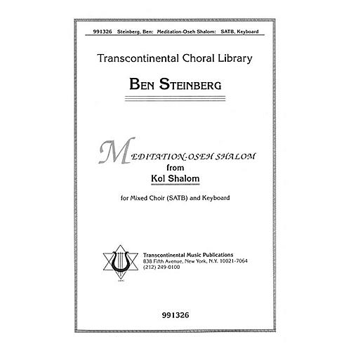 Transcontinental Music Meditation - Oseh Shalom SATB composed by Ben Steinberg