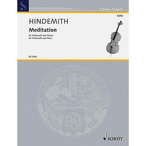 Schott Meditation from Nobilissima Visione Schott Series