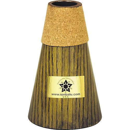 Balu Medium / Small Bell French Horn Practice Mute Black Onyx