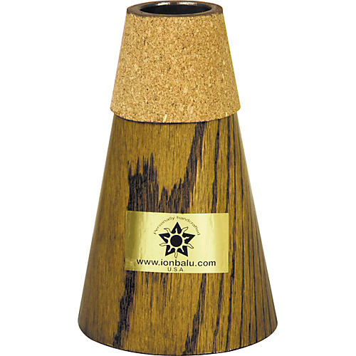 Balu Medium / Small Bell French Horn Practice Mute Walnut
