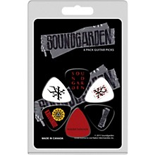 Perri's Medium Celluloid Picks With Soundgarden Logo 6 Pack
