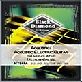 Black Diamond Medium Gauge Silver-Plated Acoustic-Electric Guitar Strings  Thumbnail