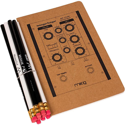 Moog Medium Notebook and Pencil Set (5X8)-thumbnail