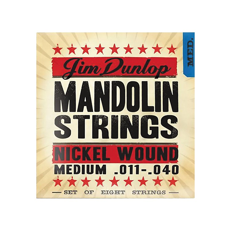 Dunlop Medium Phosphor Bronze Mandolin Strings