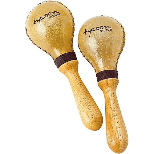 Tycoon Percussion Medium Rawhide Maracas-thumbnail