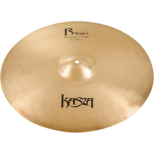 Kasza Cymbals Medium Rock Crash Cymbal-thumbnail