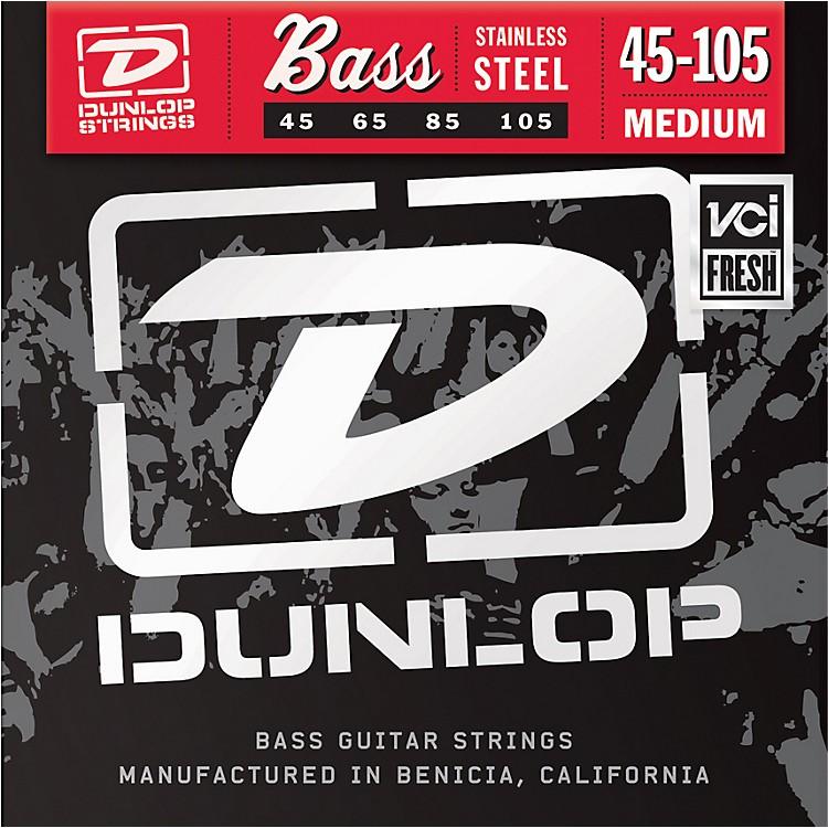 DunlopMedium Stainless Steel Bass Strings
