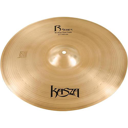 Kasza Cymbals Medium Thin Rock Crash Cymbal 17 in.