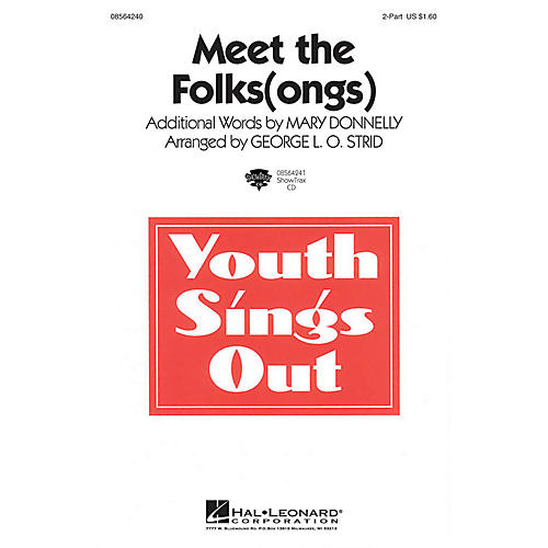 Hal Leonard Meet the Folks(ongs) 2-Part arranged by George L.O. Strid-thumbnail