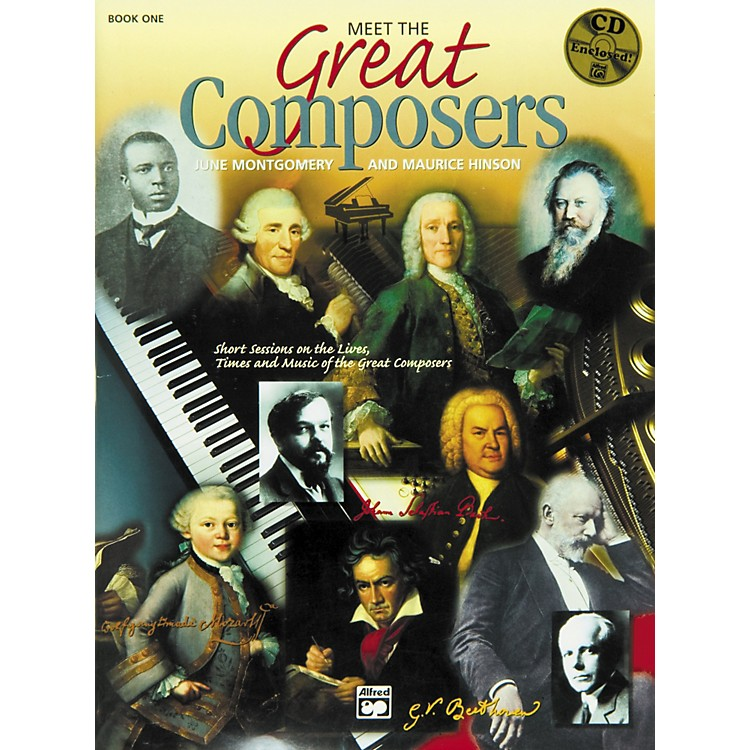 AlfredMeet the Great Composers Book 1 Book & CD