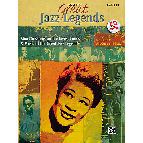 Alfred Meet the Great Jazz Legends Book/CD-thumbnail