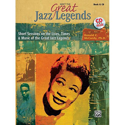 Alfred Meet the Great Jazz Legends Book & CD-thumbnail