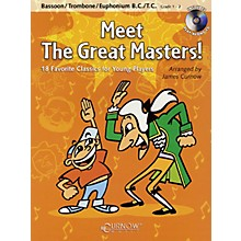 Curnow Music Meet the Great Masters! (Trombone - Grade 1-2) Concert Band Level 1-2