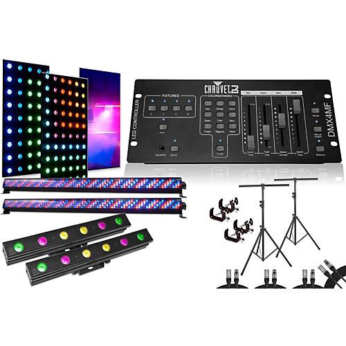 CHAUVET DJ Mega Bar, Pix Mini, DMX4MF 4 Light System-thumbnail