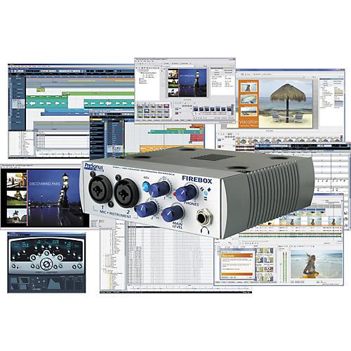PreSonus MegaStudio Artist Recording Package