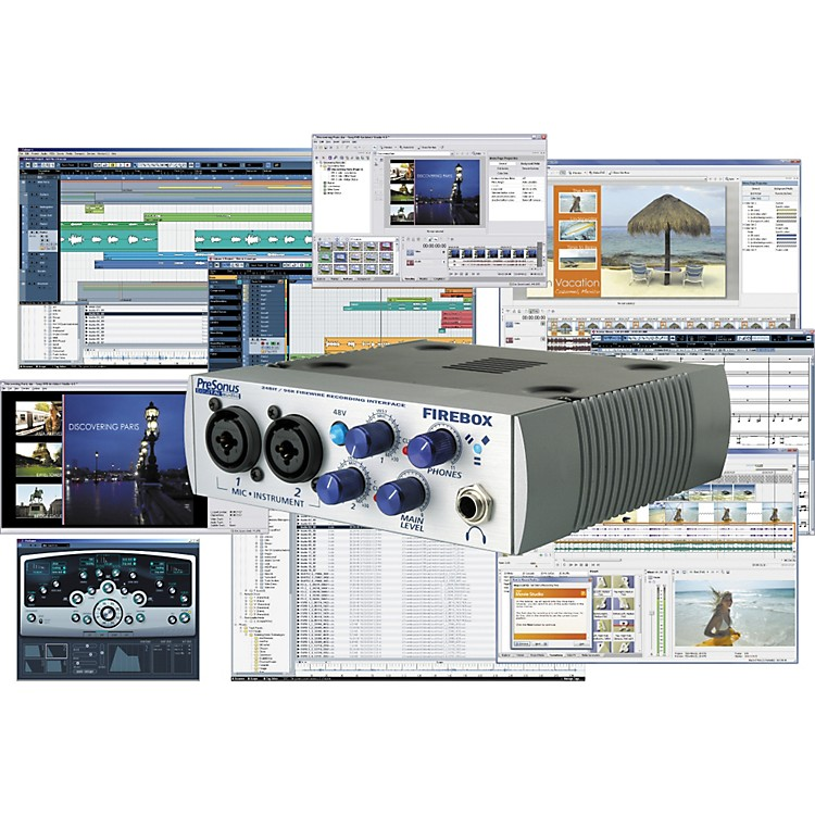 PreSonusMegaStudio Artist Recording Package