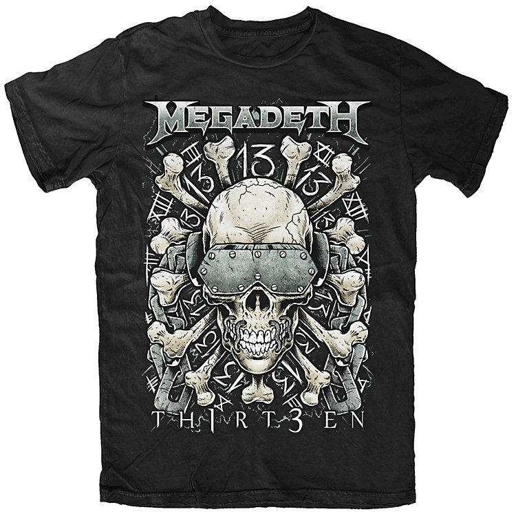FEA Merchandising Megadeth - Red Bone T-Shirt