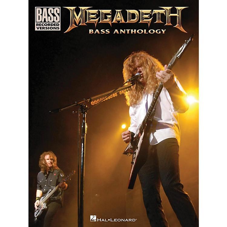 Hal LeonardMegadeth Bass Anthology