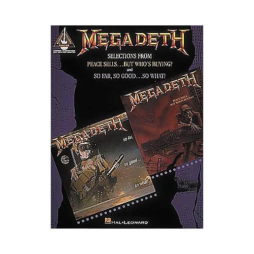 Hal Leonard Megadeth Guitar Tab Songbook