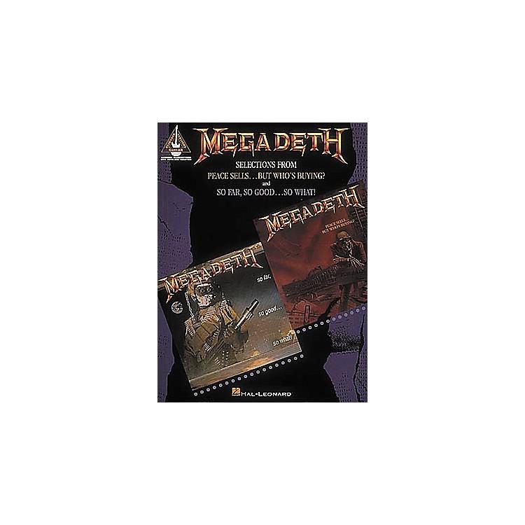 Hal LeonardMegadeth Guitar Tab Songbook