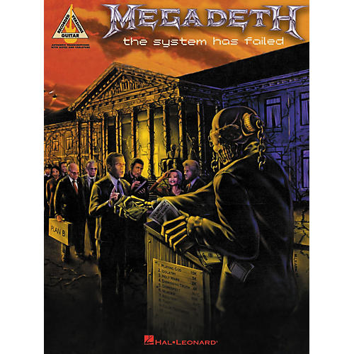 Hal Leonard Megadeth The System Has Failed Guitar Tab ...