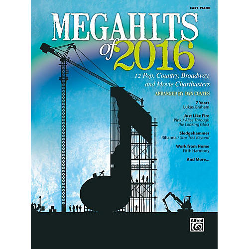 Alfred Megahits of 2016 Easy Piano Songbook-thumbnail