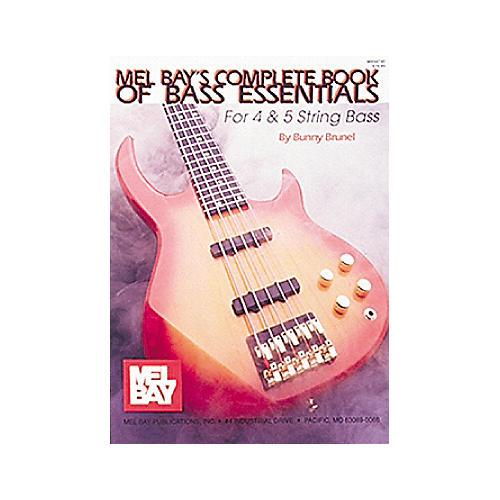 Mel Bay Mel Bay's Complete Book of Bass Essentials