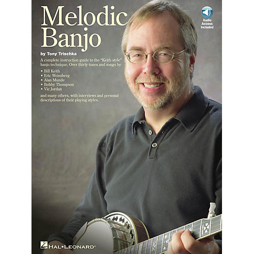 Music Sales Melodic Banjo Music Sales America Series Softcover with CD Written by Tony Trischka-thumbnail