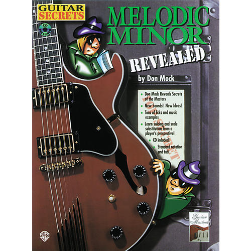 Alfred Melodic Minor Revealed (Book/CD)