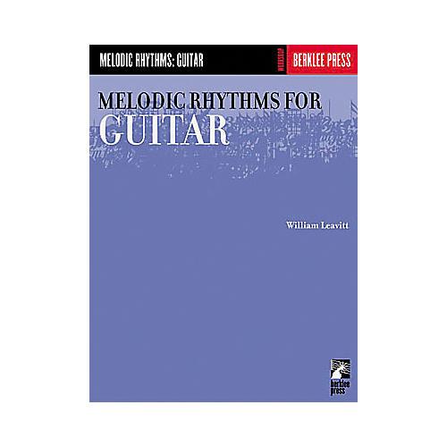 Berklee Press Melodic Rhythms for Guitar Book-thumbnail
