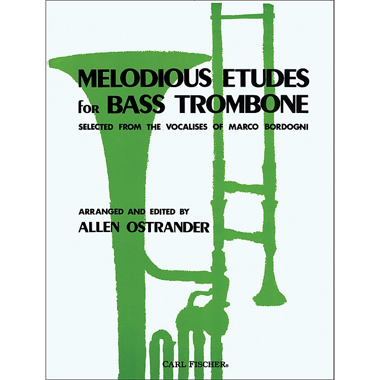 Carl FischerMelodious Etudes for Bass Trombone
