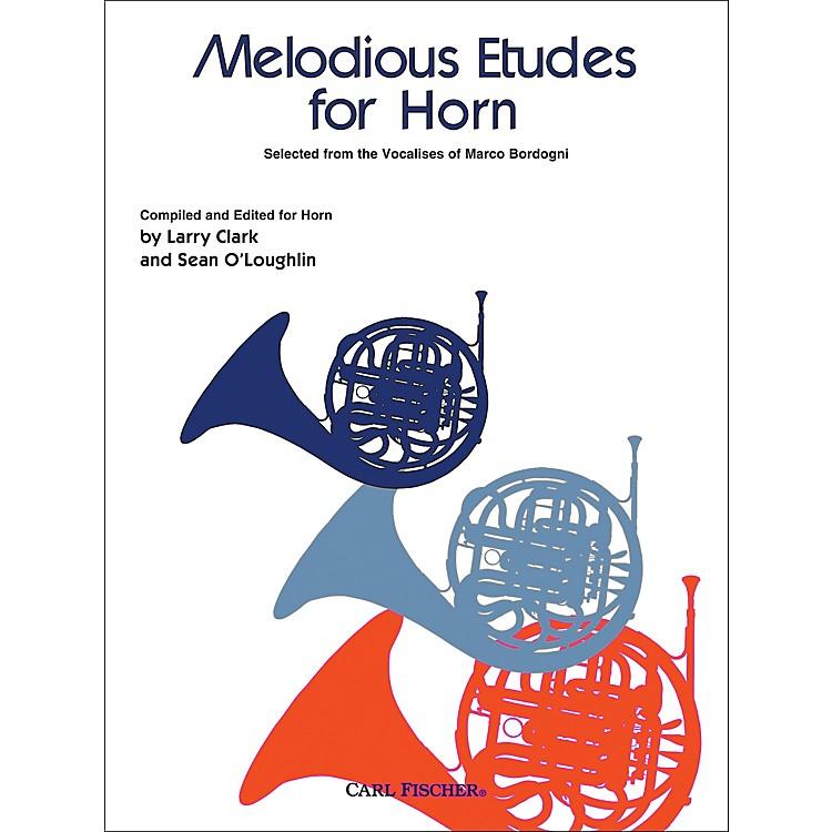 Carl FischerMelodious Etudes for Horn