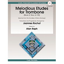 Carl Fischer Melodious Etudes for Trombone, Vol. 2