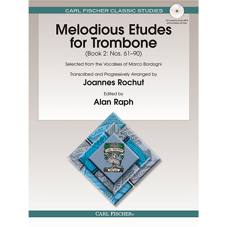 Carl FischerMelodious Etudes for Trombone, Vol. 2
