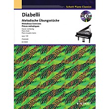 Schott Melodious Exercises, Op. 149 (With a CD of Piano Accompaniments) Schott Series Softcover with CD