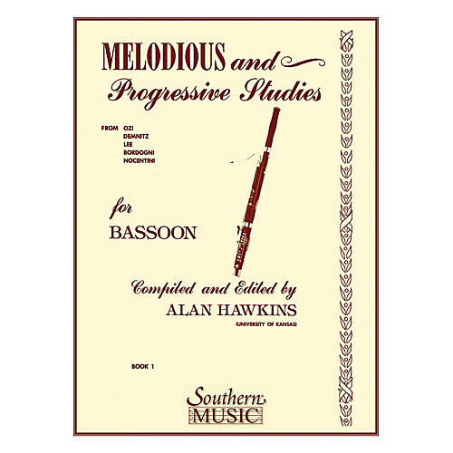 Southern Melodious and Progressive Studies, Book 1 (Bassoon) Southern Music Series by Alan Hawkins-thumbnail